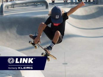 Highly Profitable Skateboard Park & Retail Store, Asking $229,000 (15686)